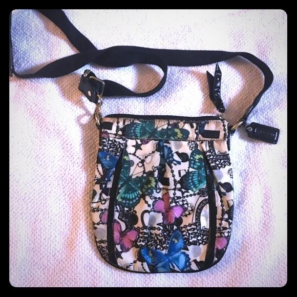 Coach Handbags - Coach butterfly Crossbody